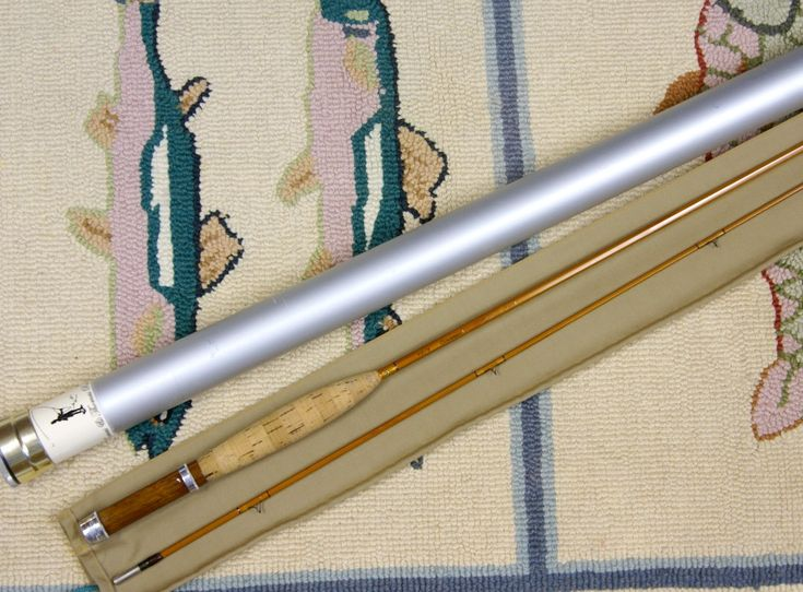 Vintage thomas and thomas classic bamboo rod j d wagner for Vintage fishing poles