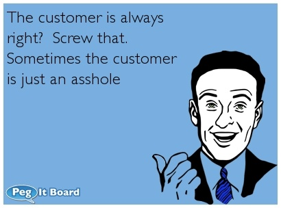 i've worked in retail. i know this first hand!