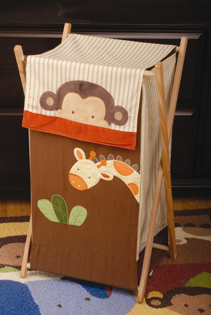 Kids Line Jungle 123 Hamper Kids Rooms Pinterest Kid