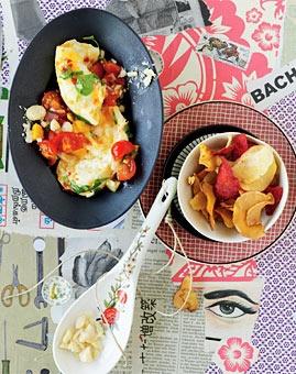 Büffel-Mozzarella mit Tomaten-Mango-Salsa - Rezepte - [LIVING AT HOME]