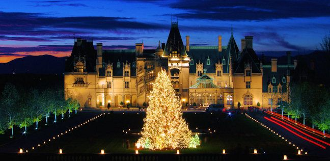 We just went this weekend, so fabulous, 78 decorated trees! If you're in Asheville, be sure to stop by the Biltmore House. #BiltmoreEstate #Christmas #Asheville
