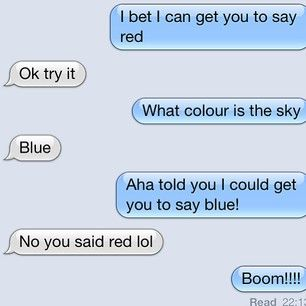 Should have seen it coming. | 21 Dumb Joke Texts That Are Actually Hilarious