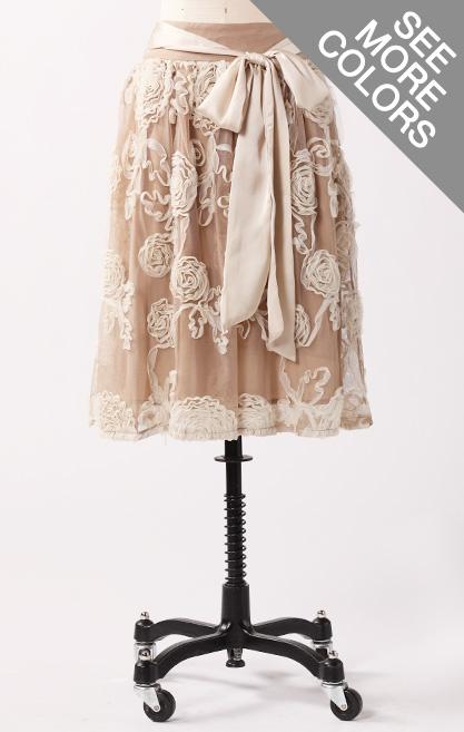 Downeast basics skirt front.