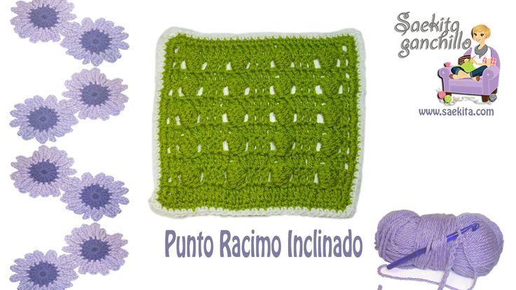 Mejores 26 imágenes de puntos crochet en Pinterest   Puntadas de ...