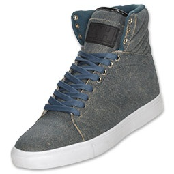 Android Homme high-tops. different kind of style but i like it