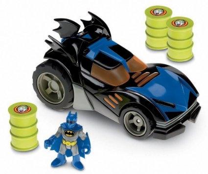 Amazon.com: Fisher-Price Imaginext DC Super Friends The Batmobile: Toys & Games