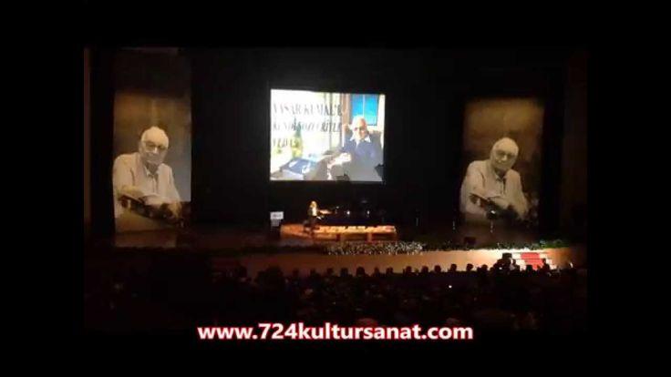 Yaşar Kemal Anma Töreni video... Yaşar Kemal'in cenaze günü... CRR'de bir anma töreni düzenlendi. #yaşarkemal #edebiyat #roman #kitap #incememed