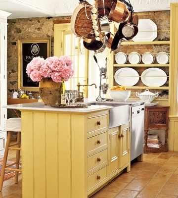 Vintage Yellow Country Kitchen 12 best yellow kitchen islands images on pinterest | dream