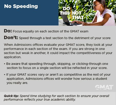 Advice on the GMAT test?