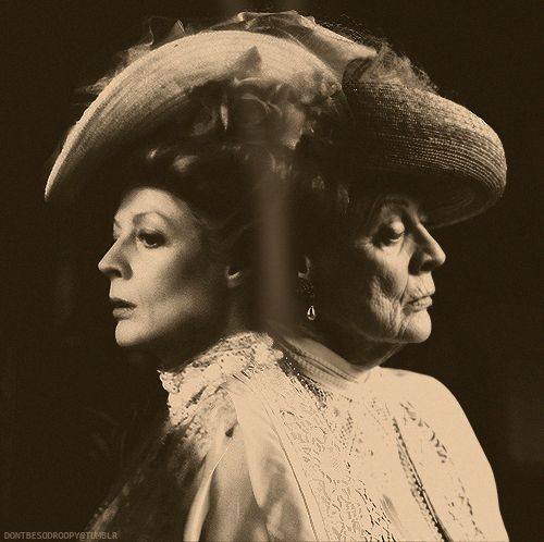 "The fabulous Maggie Smith from ""Room with a View"" to ""Downton Abbey"".  <3"