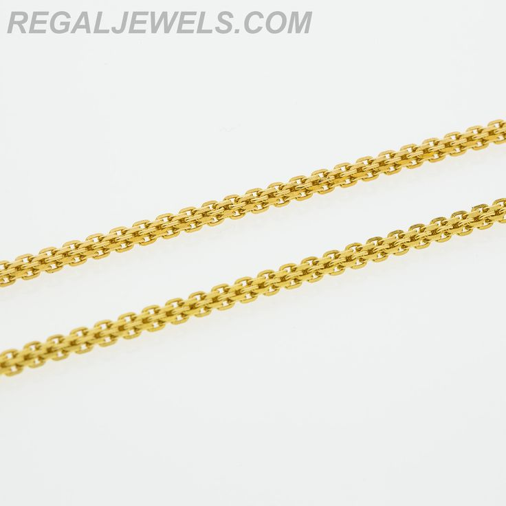 details necklace plain chains chain gold