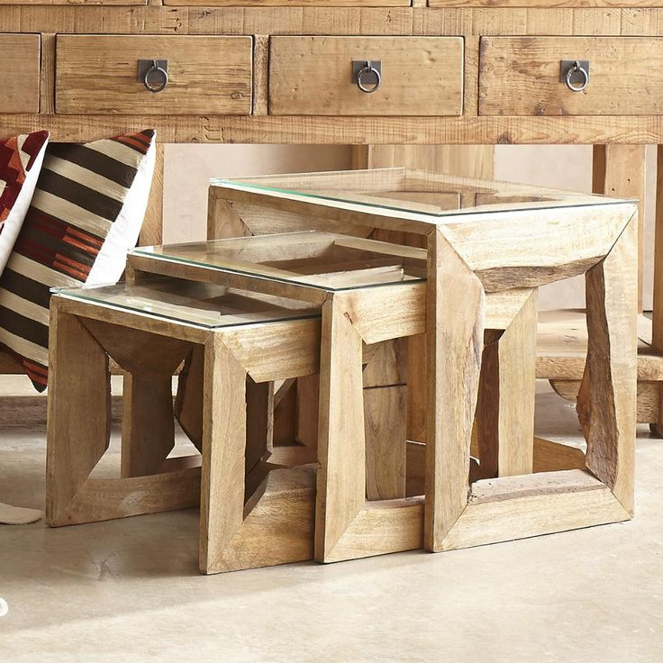 Arboreal Nesting Side Tables