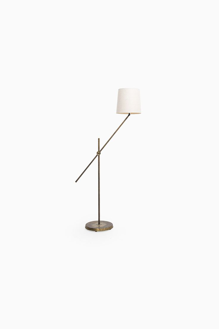 Ecoschools gt home gt resources and guides gt charts and posters - Height Adjustable Asea Floor Lamp In Brass More Asea Lighting At Studio Schalling Midcenturymodern