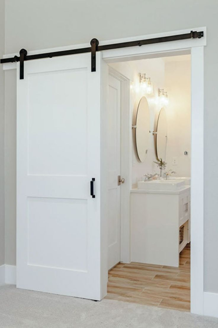 Most Up To Date Pic Sliding Bathroom Door Strategies Modern