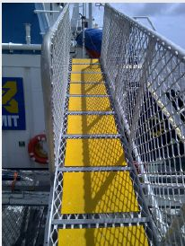Get (FRP) Deck Plating to improve the safety of decks. Anti-Slip Fibreglass systems from Deck SAFE are best solutions for slipping issues in decks.