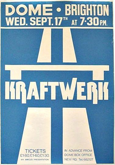 Kraftwerk poster.