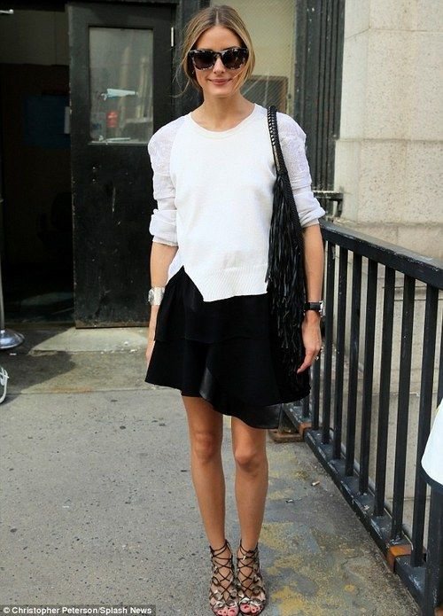 September 7 2014 | Olivia Palermo packs in more shows as she races around New York Fashion Week