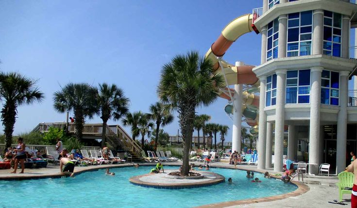 The Only Oceanfront Water Park on Myrtle Beach - Our Visit