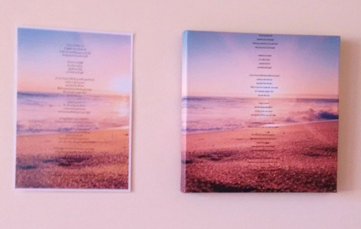 Example of aPoem Laminated and on Canvas Okay so I've told you what Psychic Poetry is and how I do it. You've seen examples of the Poetry. So you may be thinking what now? Why not try it out. Buy …