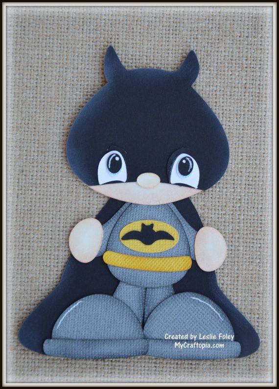Super héroe Batman Premade Scrapbooking adorno por MyCraftopia