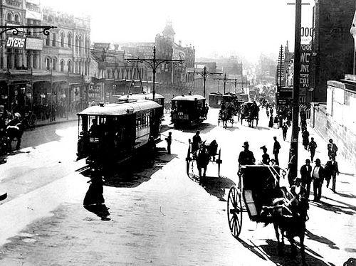 George St. Sydney.. early 1900s. Australia | Flickr - Photo Sharing!