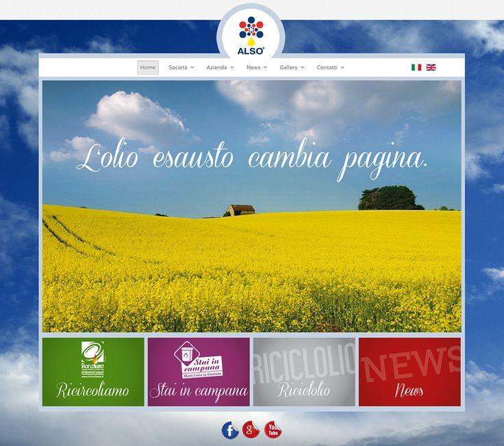 Nuovo sito Alsosrl.it
