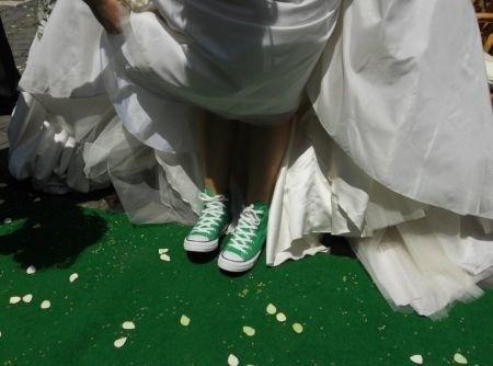 scarpe sposa converse