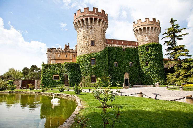 parque histórico del Castillo de Peralada de 1877