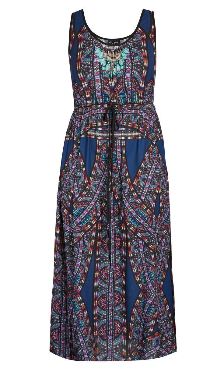 City Chic - BIBA MAXI DRESS - Women's Plus Size Fashion