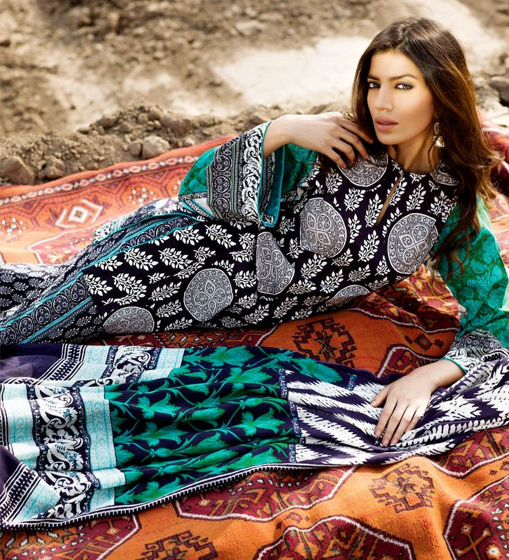 South Asian Designer Winter Fall Dresses - #IndianWinterWear  Last year people have appreciated the embroidery of sharp and different colors so now the designers are also focusing to make some new styles but different that will make you look smart and attractive.