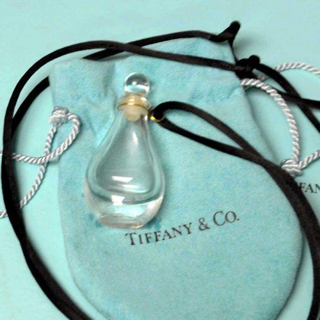 Vintage Halston For Tiffany Perfume Bottle
