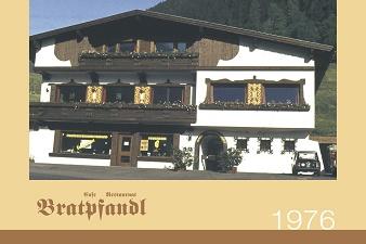 """1976: Alles beginnt als Barbara und Josef Stock das Restaurant """"Bratpfandl"""" eröffnen –  mit 120 Sitzplätzen und 9 Mitarbeitern."""