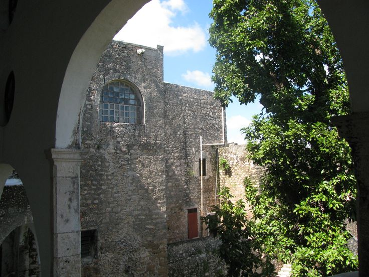 The convent of St. Anthony of Padua, home to the church of Our Lady of Izamal