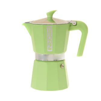 6 Cup Green Coffee Pot Green Coffeetk Maxxhome D Corkitchen