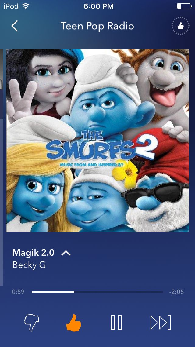 Lol. The SmurfsSong ...