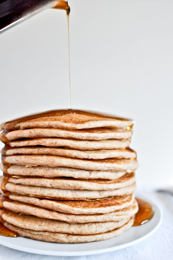 Greek Yogurt Pancakes - whip up these light and delicious pancakes for your next brunch party to leave a lasting impression on your guests.