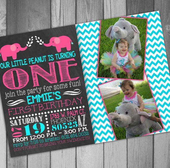 Hey, I found this really awesome Etsy listing at https://www.etsy.com/listing/194373865/elephant-birthday-girl-birthday-baby