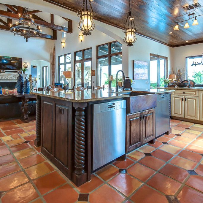 1000 ideas about mexican tile kitchen on pinterest for Spanish style floor tiles