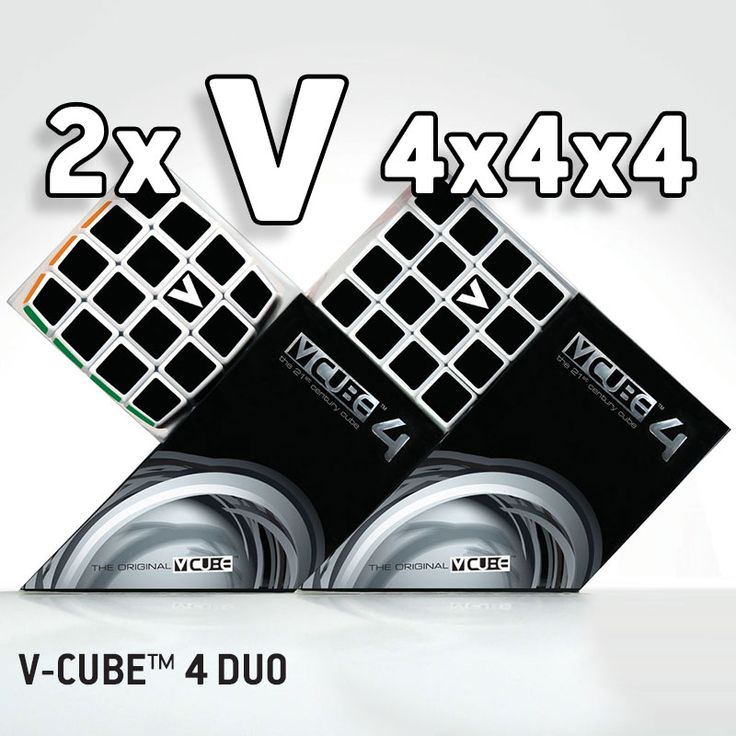 V-CUBE 4 ™ Rotational Cube Twisty Puzzle is the 4x4x4 version of the V-CUBE™ family! V-CUBE 4™ is a multicored, four-layered cube with exceptional quality and incredibly smooth rotation. The player is required to discover a strategy to achieve uniform colored sides on her/his V-CUBE 4™.