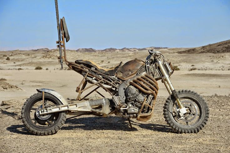 LES MOTOS DE MAD MAX FURY ROAD | Be Street
