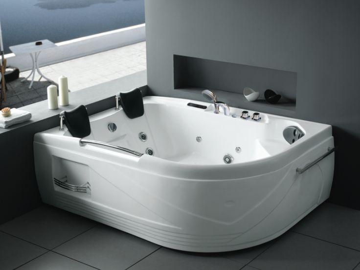 Les 25 meilleures id es concernant baignoire baln o sur pinterest balneo b - Baignoire d angle belgique ...
