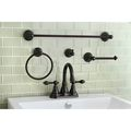 Classic High Spout Oil-rubbed Bronze Bathroom Faucet  and Bathroom  Accessory Set | Overstock.com