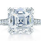 Tiffany's Emerald-cut diamond ring