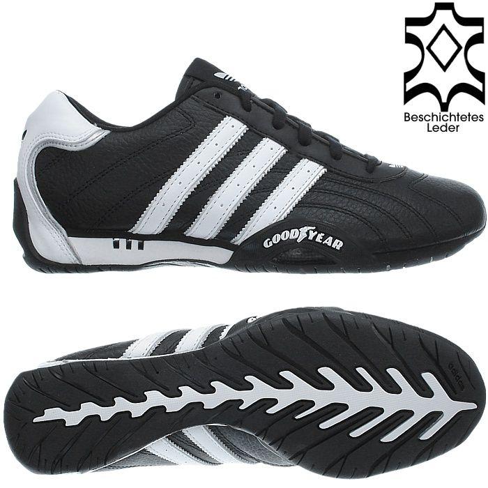 Adidas ADI RACER schwarz weiß braun Sneaker Schuhe Herren 40 bis ...