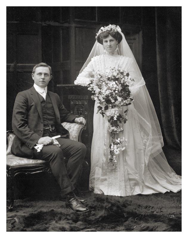 Wedding photo, 1910