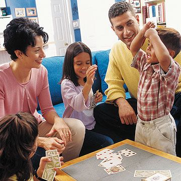 """Don't wait for holidays or vacations to connect. Sunday breakfast, Friday game night, weekend shopping, or gardening can bring the family together. """"We dine out on the same night each week,"""" Vozza says. """"We know not to schedule outside activities because it's sacred family time."""" Whatever tradition you choose, make sure everyone, including parents, honors a set time. Everyone should show up and unplug. No texting, no Facebook, and no TV. """"Don't let your schedule run you,"""" Vozza says. """"Enjoy…"""