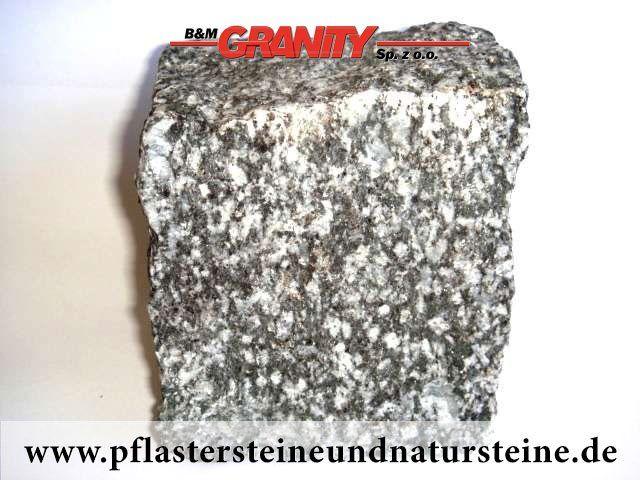 Firma B&M GRANITY - gespaltene Pflastersteine aus polnischem Syenit (schwarz und weiß, Syenit-Pflastersteine) http://www.pflastersteineundnatursteine.de/fotogalerie/pflastersteine/