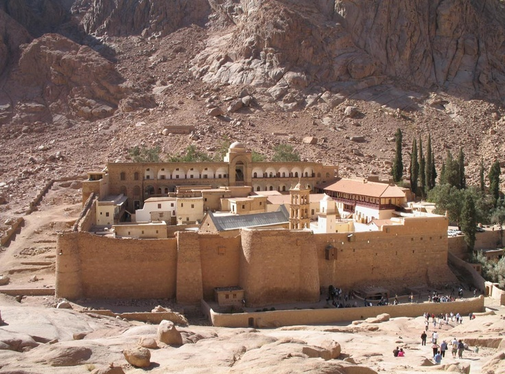 Saint Catherine's Monastery, Mount Sinai, Egypt