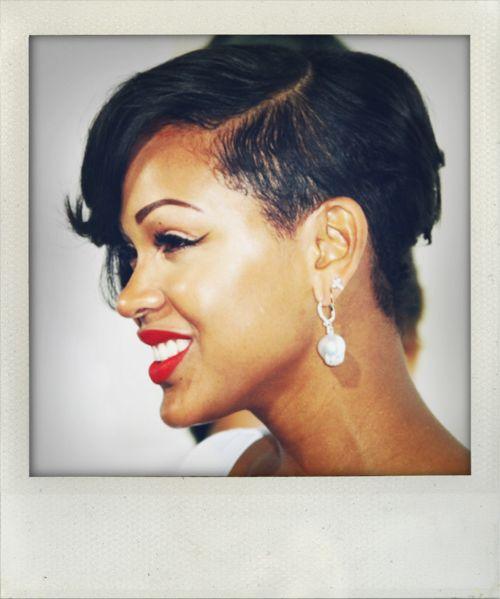 Fabulous 1000 Ideas About Megan Good Haircut On Pinterest Best Haircuts Short Hairstyles Gunalazisus