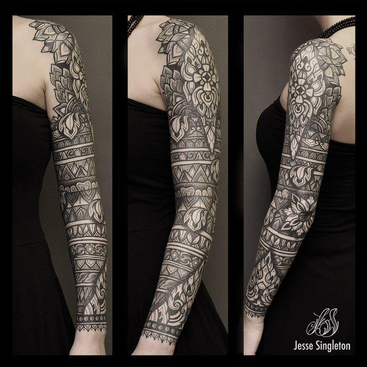 Jesse Singleton Tattoos At Scratchline Tattoo, Kentish